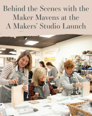 Behind the Scenes of A Makers' Studio Launch in Memphis