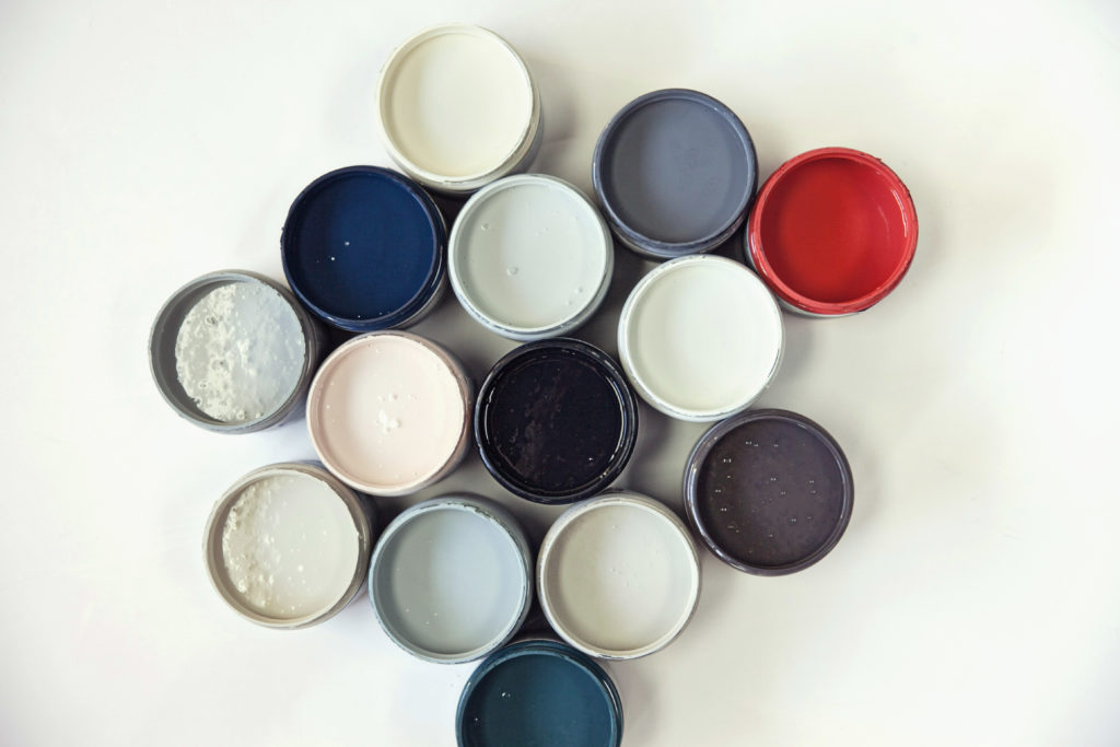 Completely transform surfaces with Rescue Restore Paint from A Makers' Studio. No need for sanding, stripping, priming, or sealing when painting furniture, cabinetry, or so many other surfaces, even glass, melamine, formica, concrete, and more!