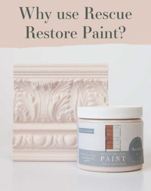 Why use Rescue Restore Paint?