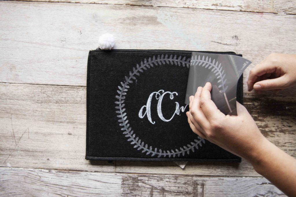 A DIY monogrammed pouch is a simple way to add style to function to your purse. See our 4-step monogrammed pouch tutorial and get the tools you need to make a pouch for yourself or a friend!